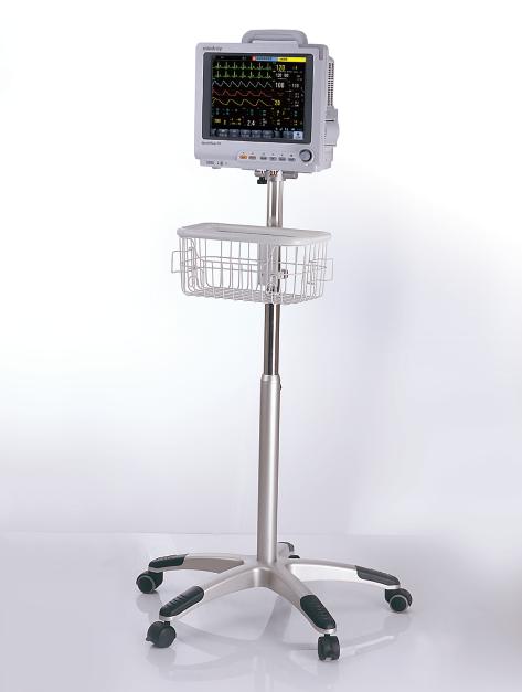 临床信息集成共享 随时随地查看病人信息 采用国际标准的HL7协议 监护数据与医院信息系统无缝连接 全面支持医院信息系统 多屏幕、多界面显示 支持三个外接显示器 可任意定制不同的显示界面 让医生随时随地了解病人信息 模块数据存储功能 复合参数模块可存储病人生命体征信息, 只需通过转移模块即可实现对病人信息的转运,保证信息的连续性。 支架解决方案 包括墙面支架、锁紧支架、推车、麻醉机支架等多种灵活的安装解决方案