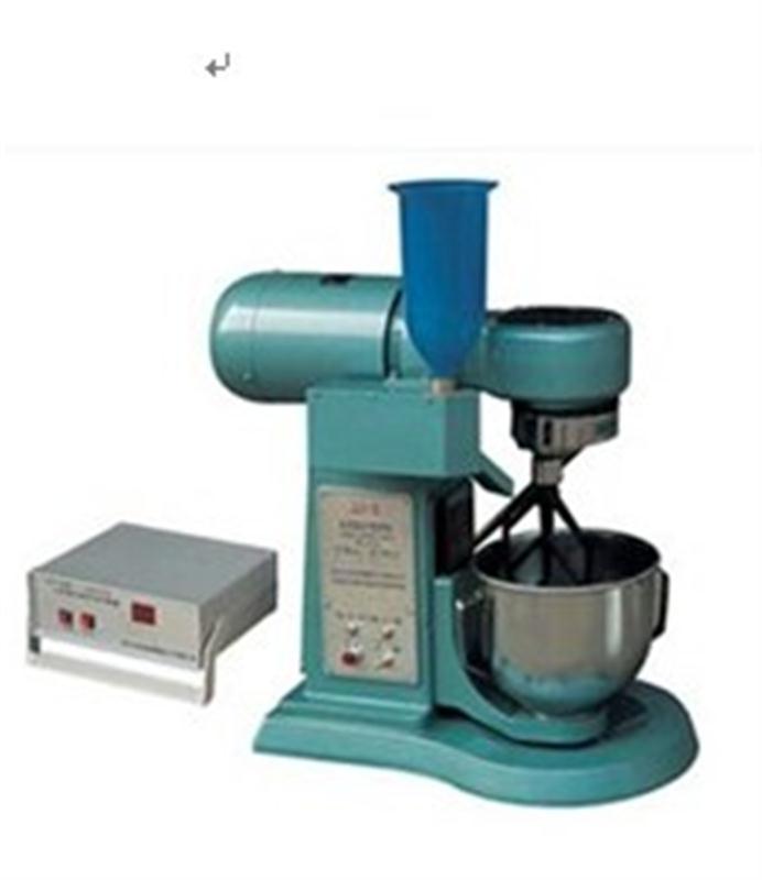 水泥胶砂搅拌机结构及工作原理