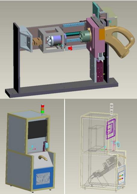 微克南添开发出在线式充电枪插拔力试验机