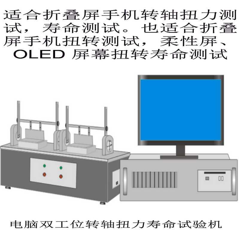 微克设备推出折叠屏系列相关试验机