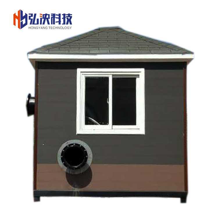 防洪排涝泵房概述一体化泵房定制生产