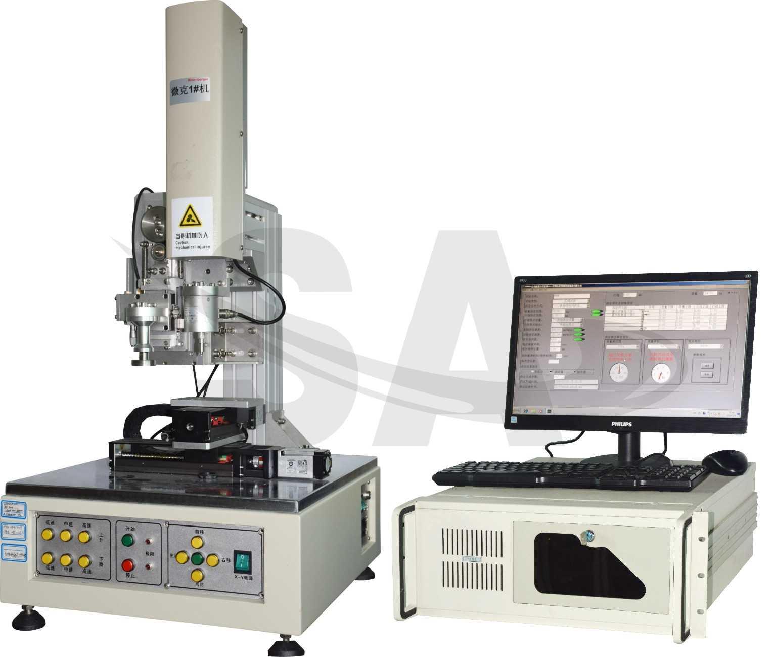 微克设备开发出顶针探针荷重阻抗寿命试验机
