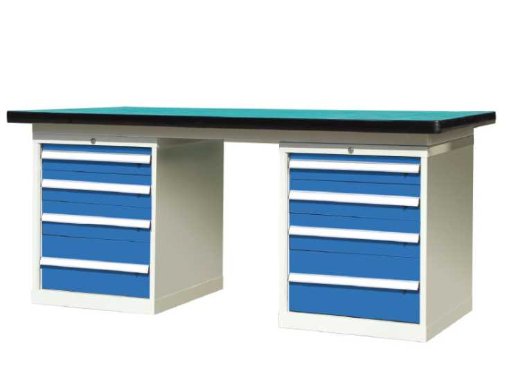 复合板工作台,重型钢板钳工台,重型模具工作桌
