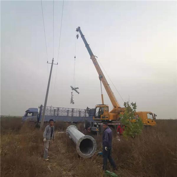钢管杆钢桩基础打桩多少钱一基