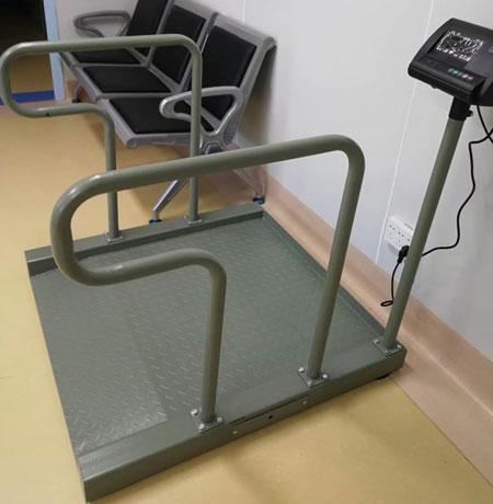 祝賀灌南縣中醫院采購3臺電子輪椅秤(帶打印功能)