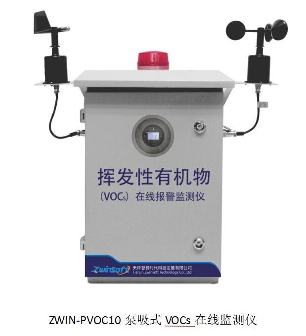 挥发性有机物排放企业VOCs检测报警实施案例