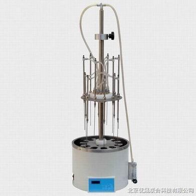 12位旋转式水浴欧冠赛程万博,水浴氮气吹扫仪,氮气吹干仪
