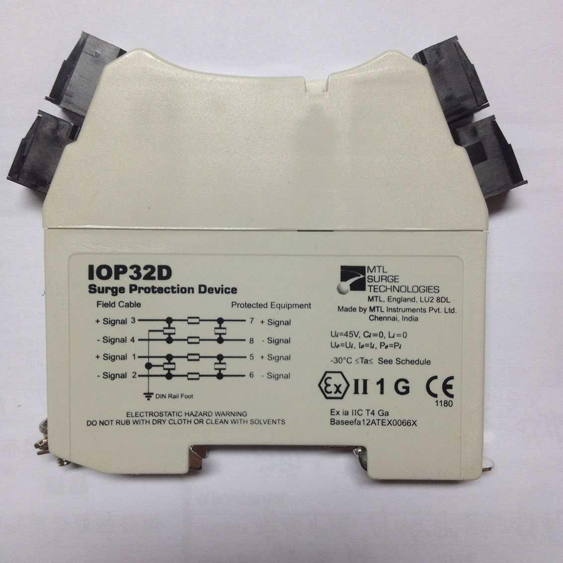 信号浪涌保护器iop32/iop32d