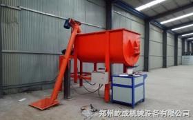 简易干粉砂浆生产线郑州屹成机械