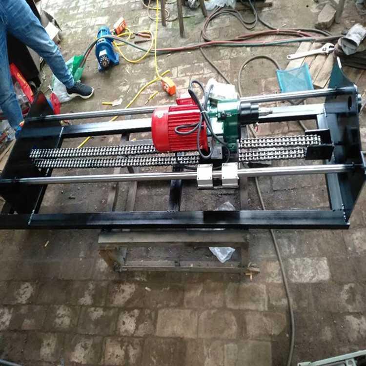 三相电水钻顶管机 小型公路水平钻孔机