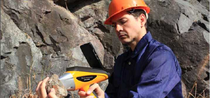 手持式矿石分析仪