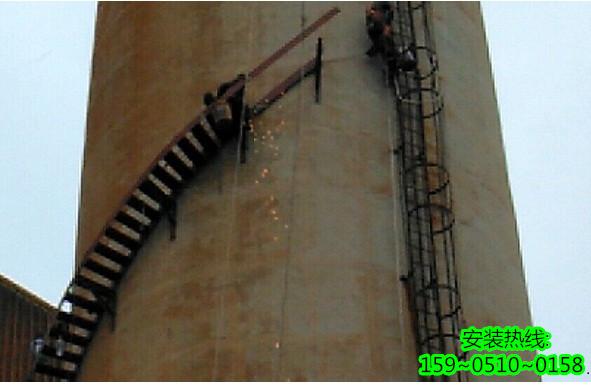 钦州烟囱安装折梯公司―技术专业