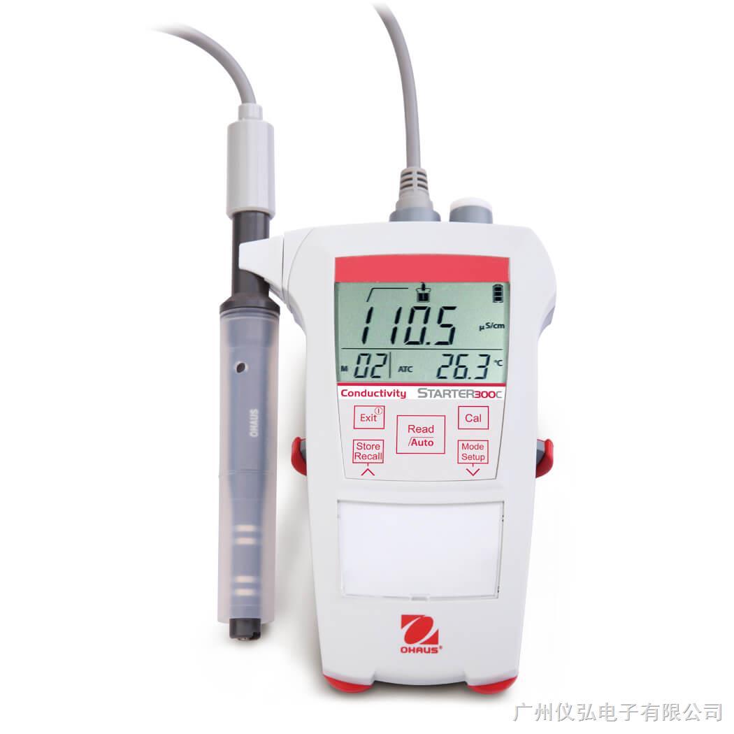 奥豪斯ST300C便携式电导率仪STARTER 300C