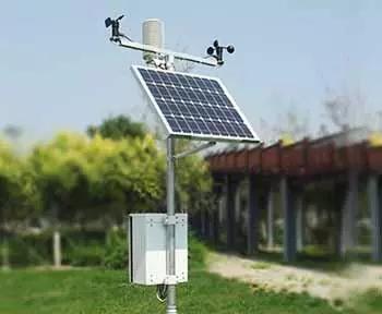 批量式高精准气象监测站,超声波气象实时监测系统,安装简单