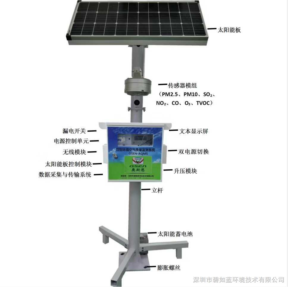 山东生态环境气体监测网格化微型站