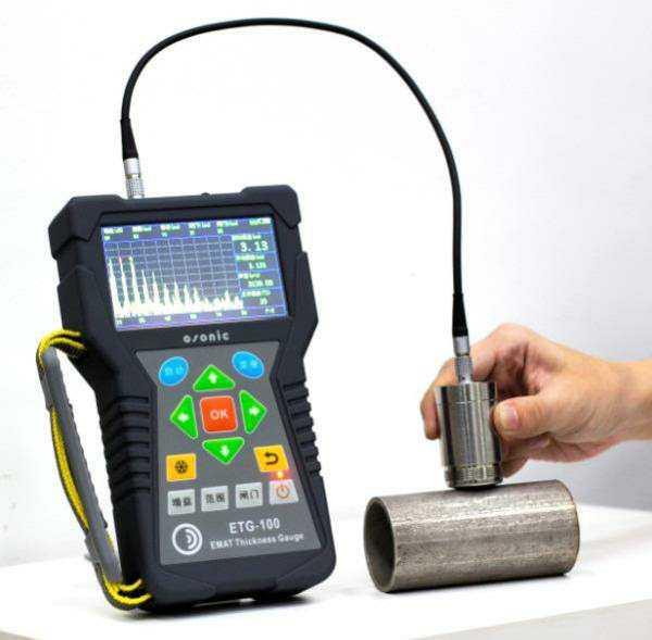高温电磁超声测厚仪