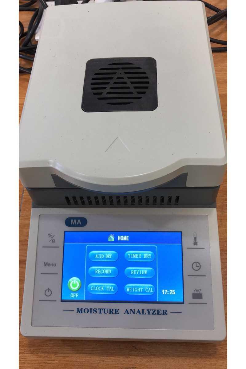 �u素烘干法水分�xDHS-110-5水分快速�y定�x