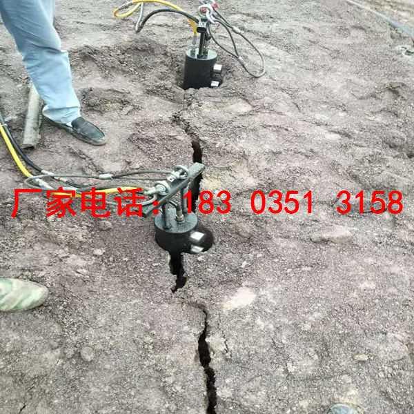 什么设备可以快速破硬石头安全开采