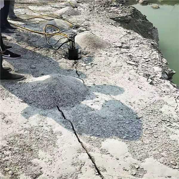 管道开挖硬岩石破除破裂机招商信誉保证