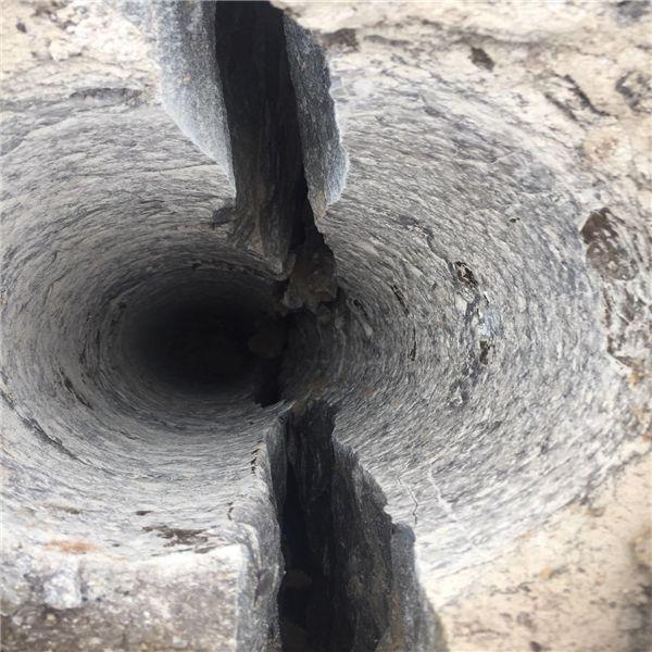 玄武石道路扩建边坡硬石头拆除劈裂棒小型手动