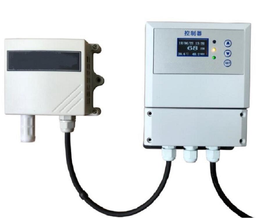 养猪场用氨气检测仪含控制器可直接联动风机