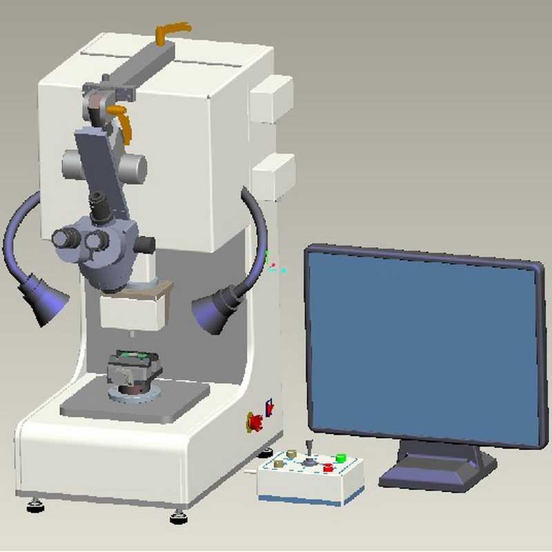 芯片微焊点晶元焊接剪切力测试机