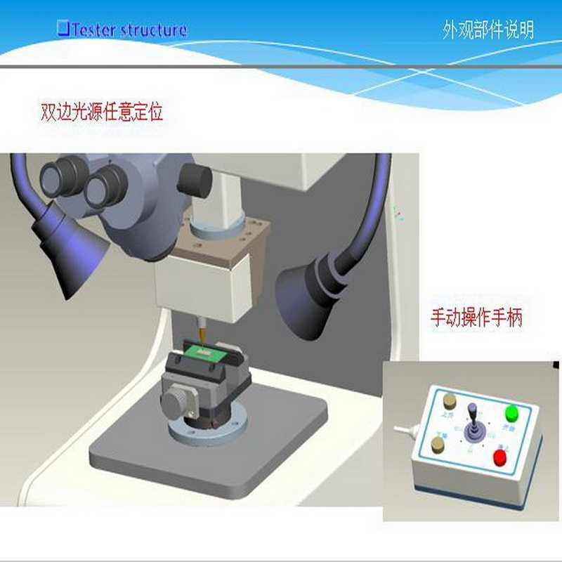 微克设备推出芯片微焊点晶元焊接剪切力测试机