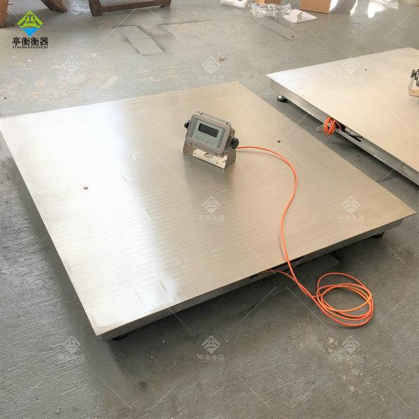 3吨不锈钢地磅精度,防腐电子磅