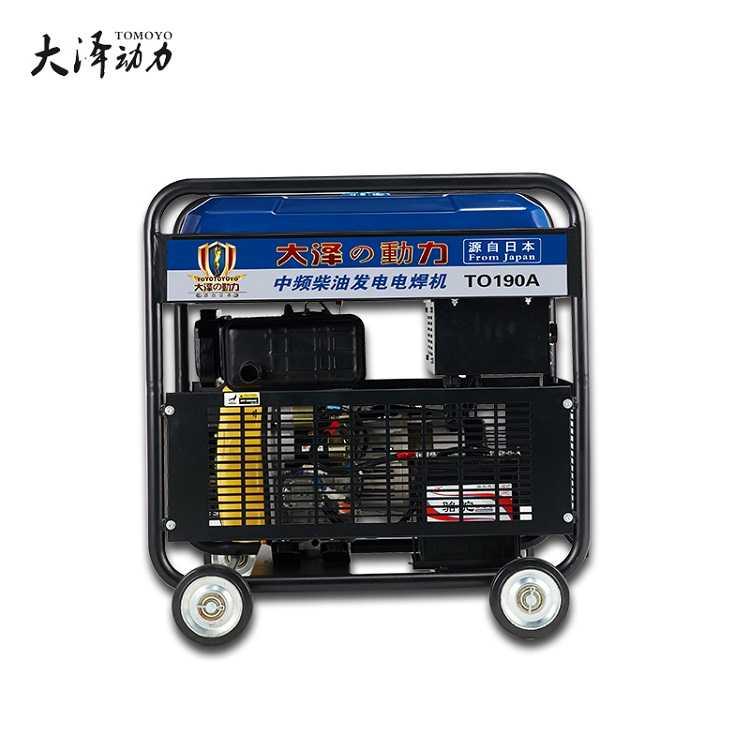 大泽动力190A柴油发电电焊机