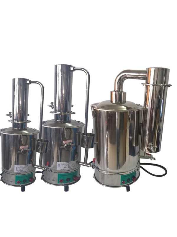 断水自控电热蒸馏水器,不锈钢蒸馏水器