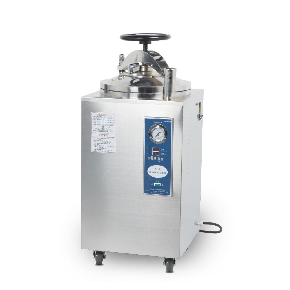 上海博迅立式压力蒸汽灭菌器YXQ-100SII