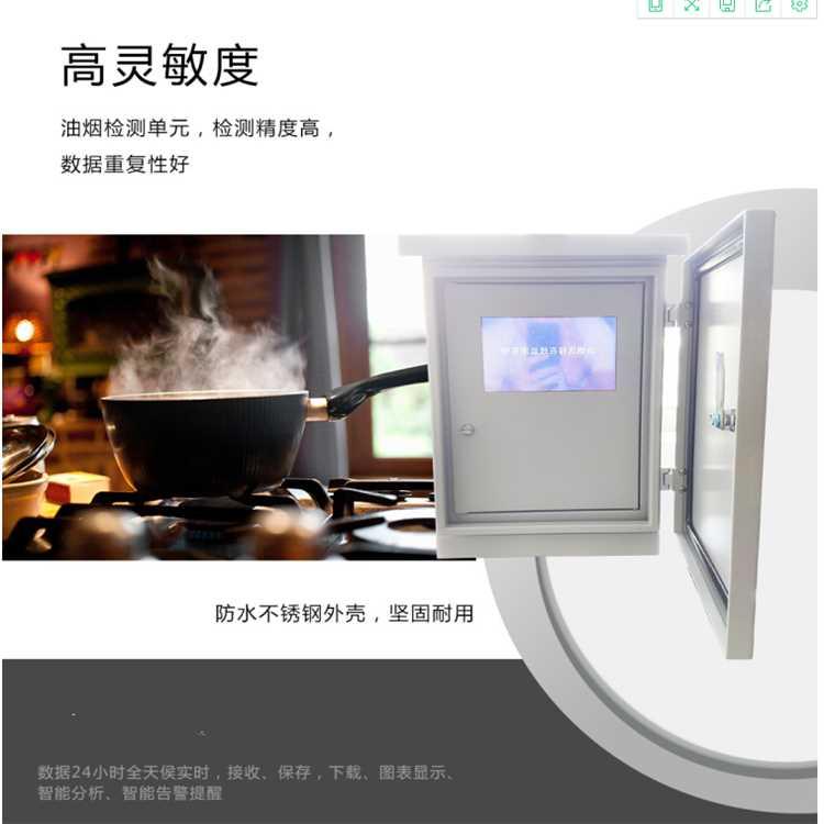 油烟浓度在线监测仪,餐饮油烟监测系统
