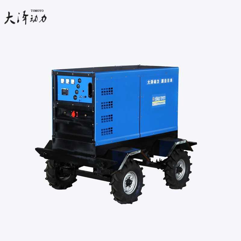 管道多功能400A柴油发电电焊机