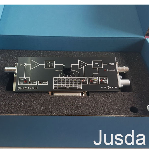 DHPCA-100阻抗可变增益电流放大器