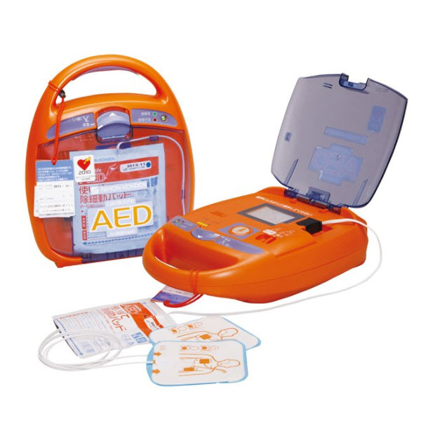日本光�AED-2150自�芋w外除�器