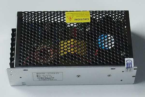 AC-DC开关电源 交流127V输入网格状电源 127VAC输入,输出12V15V24V,功率200W系列稳压电源