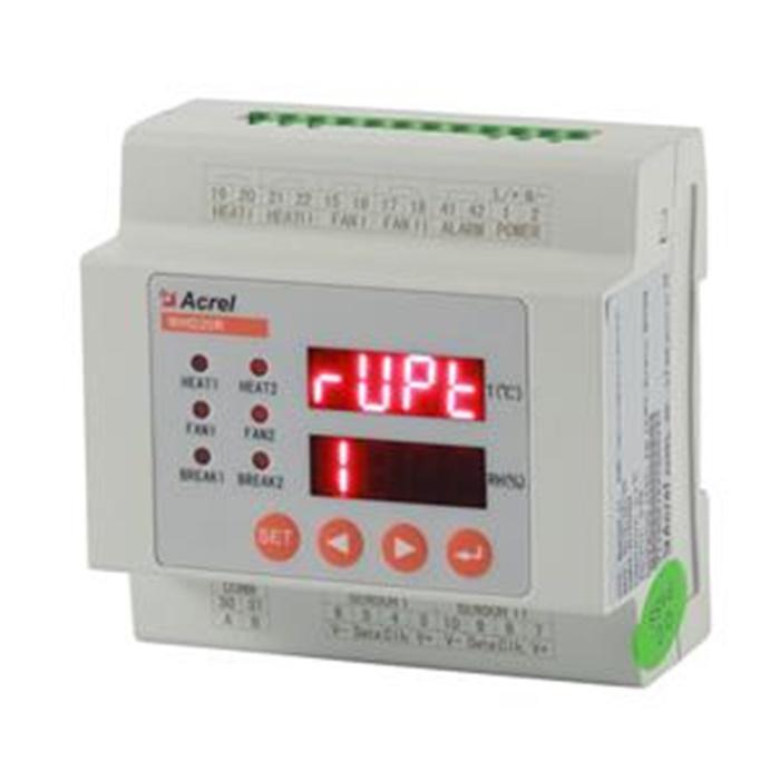 安科瑞智能2路温湿度控制器如何对开关柜内部温湿度进行调节控制?