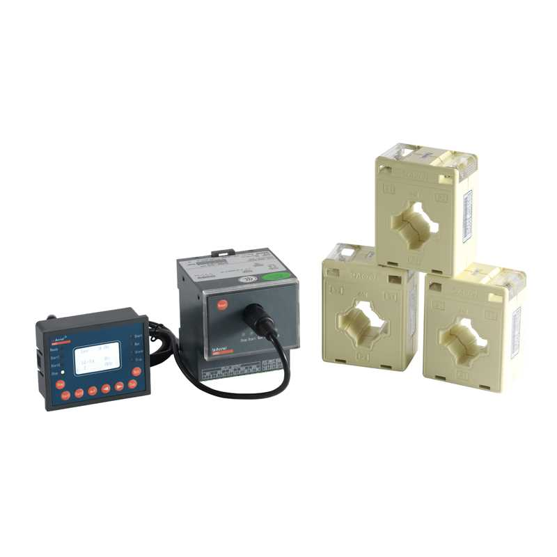 安科瑞液晶显示电机马达保护器煤矿石化过载漏电保护装置