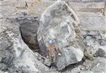 地产地基开挖石头分裂棒产量高吗