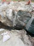 硬石头岩石破碎锤打不动怎么办劈裂机多少钱一台