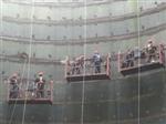 高青县烟囱刷航标色环公司