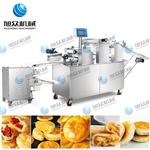 潮州老婆饼机,云南鲜花饼机,酥饼生产线