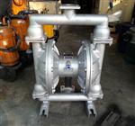 QBY系列316L不锈钢材质气动隔膜泵,卫生级不锈钢气动隔膜泵