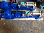 上海G型单螺杆泵,不锈钢卫生级螺杆泵
