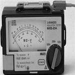 日本万用MIS-1A/2A/3A/4A指针式三量程兆欧表