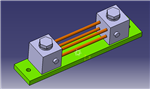 75mV100A底板固定分流器  充电桩用分流器  新能源