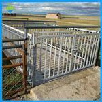 3吨地磅秤带围栏价格,1.5*1.5米碳钢围栏秤