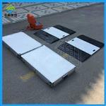 公路超限检测轴重秤,航空铝材质便携式地磅