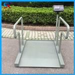 邳州医疗透析秤,医院称轮椅用300公斤电子平台秤