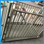 湖南猪笼秤生产厂家,1t带围栏的电子秤